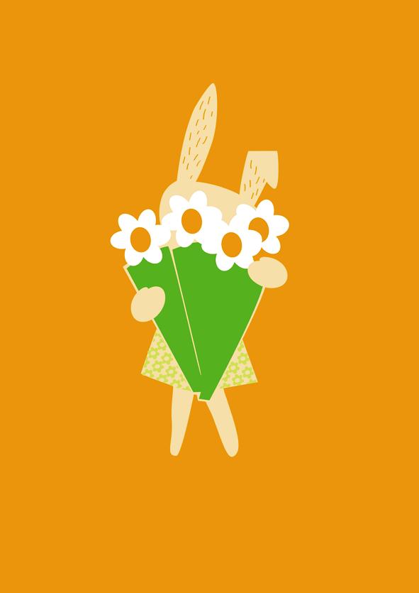 konijntje-met-bloemen